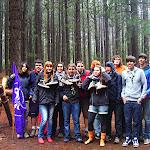 El Clan Rover Benahoare con los nuevos miembros