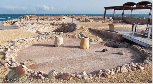 Illeta dels Banyets - Cabaña neolítica - El Campello