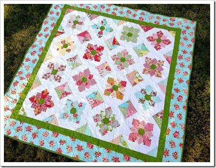 Marmalde Fabric Quilt