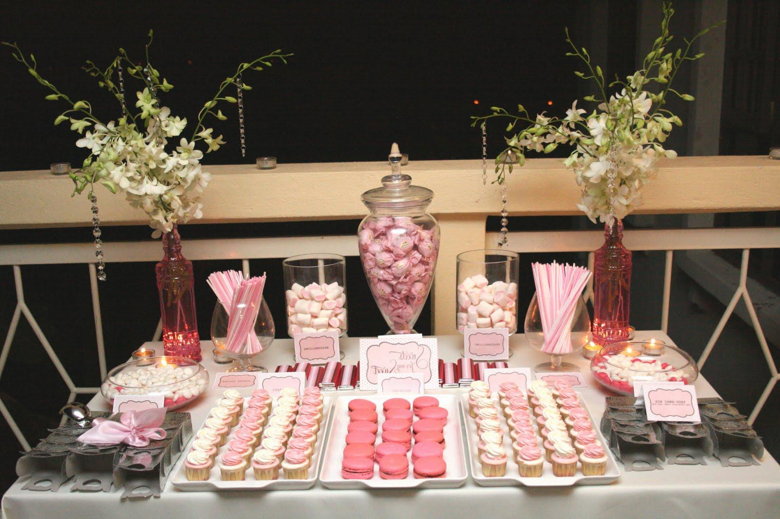 DIY Wedding. candy buffet sign