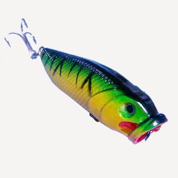 Fashion fish simulation fishing tackle lures freshwater for Freshwater fishing lures