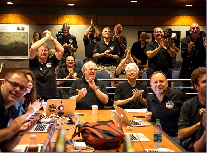 New Horizons Pluto Flyby