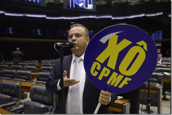 Rogério contra a CPMF