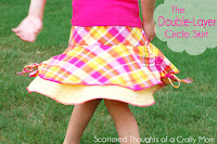 Double Layer Circle Skirt