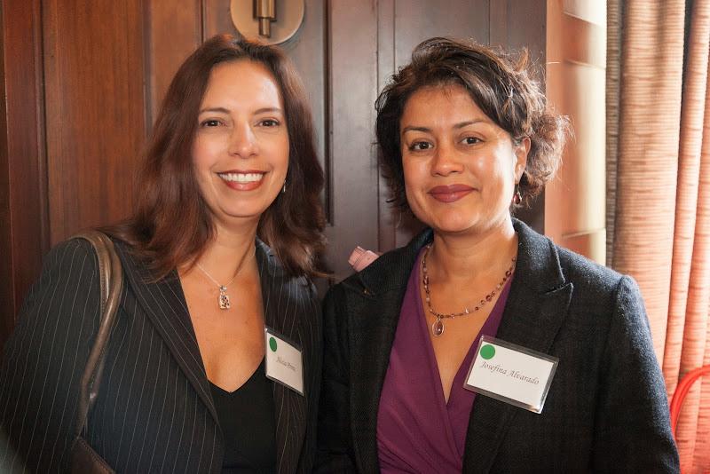 Alicia Perez and Josefina Alvarado. September 25, 2013; San Francisco, CA, USA; Photo by Eric Slomanson / slomophotos.com