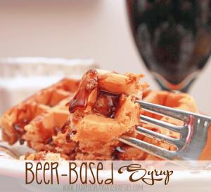Breakfast Recipe Beer-Based Syrup