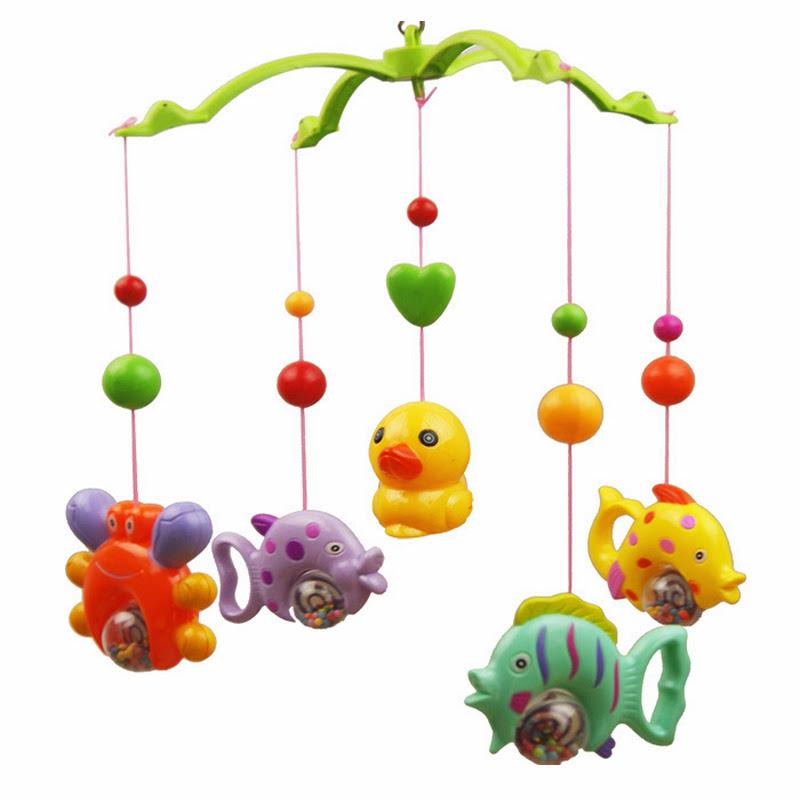 Mobile Kinderbett Dekoration Cartoon Musik Spielzeug