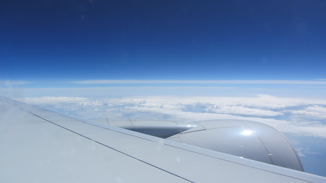 Somewhere over Alaska (I can see Russia from here!).