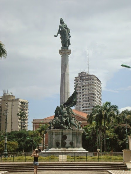 Monumento A Republica - Belém do Parà, fonte: http://memoriasdopara.blogspot.it/