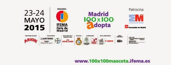 100x100 Mascota, Feria del Animal de Compañía