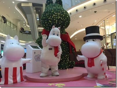Xmas Decor in HK 2015 MOKO新世紀廣場 Moomin 姆明聖誕森之庭園 (via Jetsoclub.com)