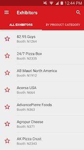 Pizza Expo 2017- screenshot
