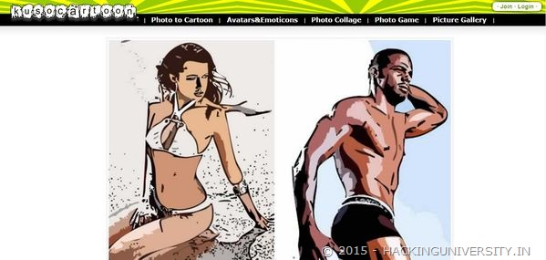 kuso cartoon online tool