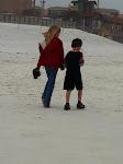 Taking a walk on the beach in Destin FL 03232012a