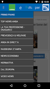 Ansa Professioni ENASARCO - screenshot