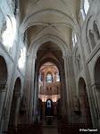 Église Sainte-Marie-Madeleine de Domont : vue générale intérieure