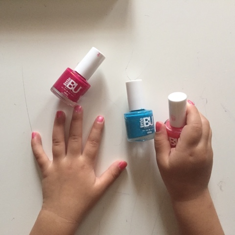 Little Bu Nail Polish Are Specially Designed For Kids They Claimed To Be Non Toxic Odourless And Water Based True Enough Don T Have That Icky
