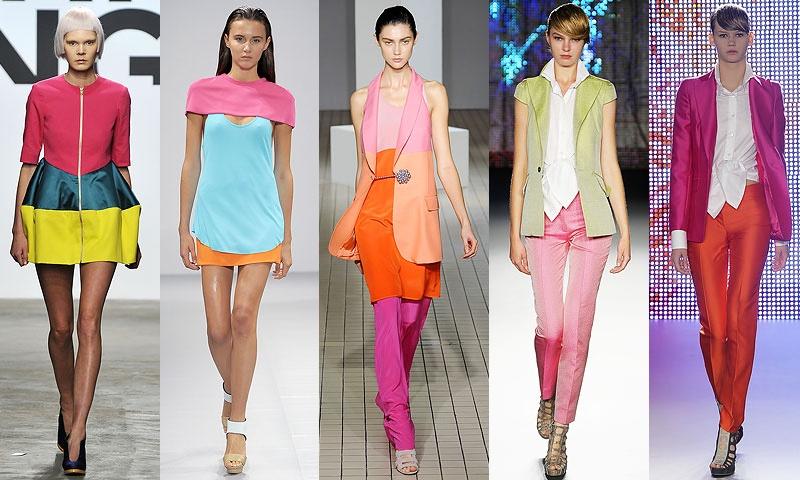 Модные цвета для девочек