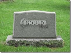 Gould-surname marker_GrandLawnCem_DetroitWayneMichigan