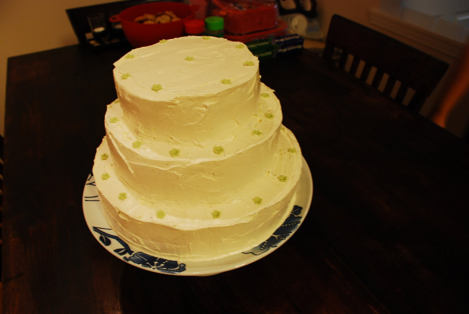The Js wedding cake,