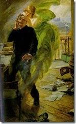 Albert Maignan   La muse verte Green Muse
