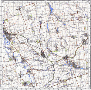 Map 100k--m37-133--(1981)