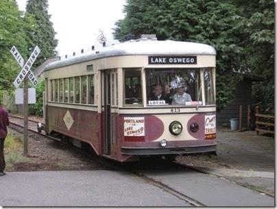 IMG_8460 Willamette Shore Trolley at Riverwood Road in Portland, Oregon on August 19, 2007