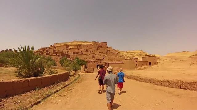 morocco kasbah ait benhaddou