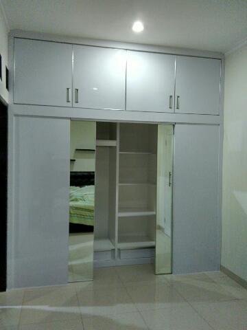 Wardrobe Lemari Pakaian Project Tebet Furniture Kitchen Set