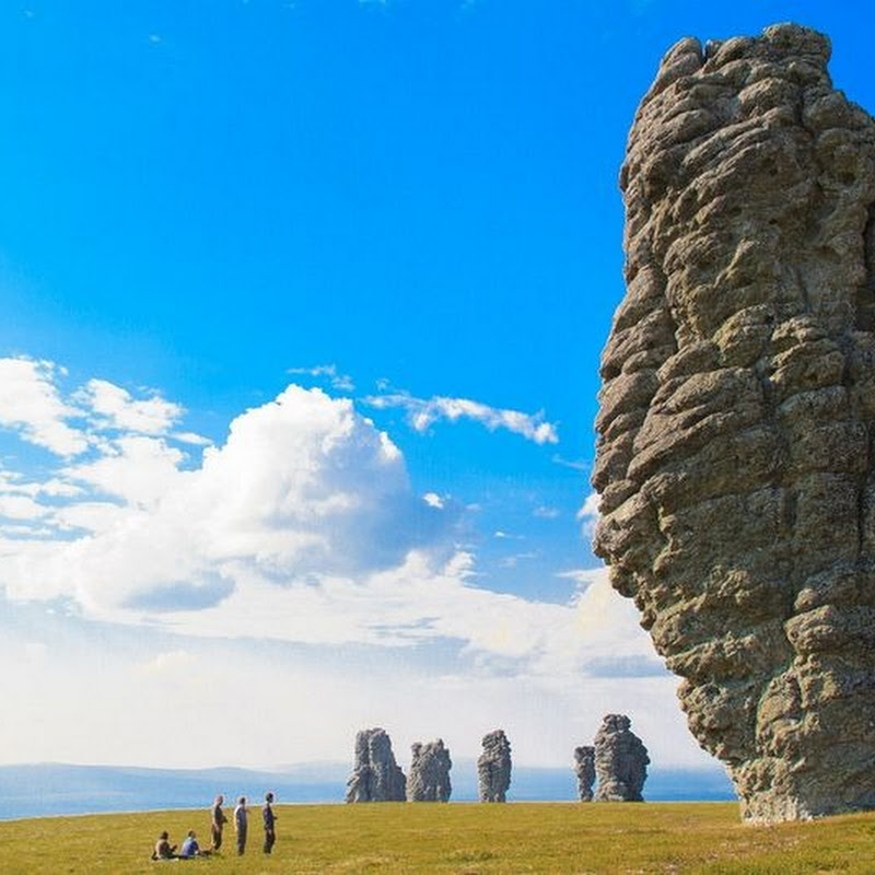 The Manpupuner Rock Formations