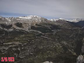 Desde la cima, hacia Escuaín y Pala de Montinier ©aunpasodelacima