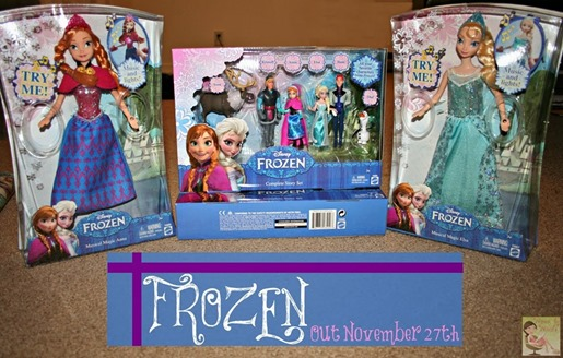 FROZEN out November 27th[6]