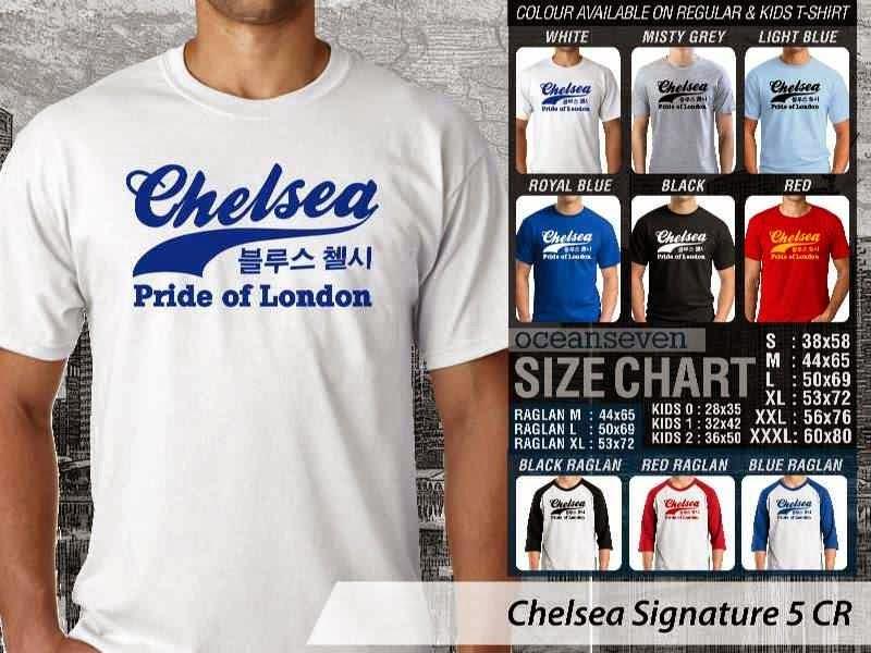 KAOS Chelsea 20 Liga Premier Inggris distro ocean seven
