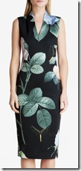Ted Baker Distinguishing Rose midi dress