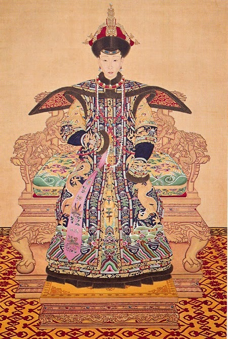 empress xiao yichun_ceremonial robe