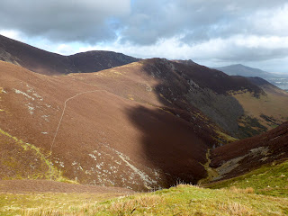 Looking over to Ard Crags from Knott Rigg