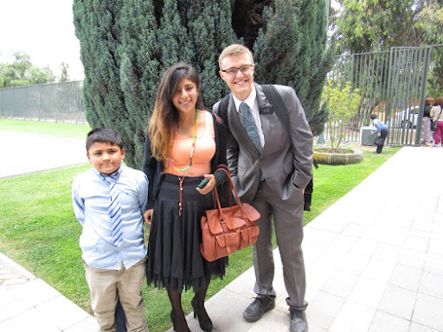 my first converts  Gilbert, Charlotte and Rosa or the family diaz toro