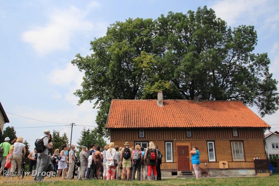 Domy drewniane w Nowej Kościelnicy