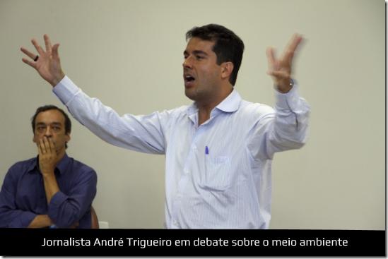 André Trigueiro debate sobre o meio ambiente