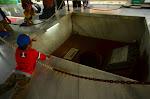 Studnia, w której ukryto zwłoki zamordowanych generałów.