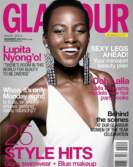 Lupita Nyong'o Cover's November Issue Of Glamour SA.