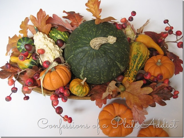 CONFESSIONS OF A PLATE ADDICT How to Create a Fall Dough Bowl