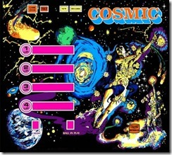 Back glass Cosmic