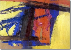 Tragedy-Franz-Kline-100-Hand-Painted-Oil-font-b-Painting-b-font-Repro-Museum-Quality-Gift