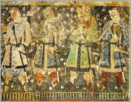 Mitos chineses de deuses gigantes