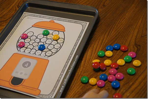 gumball math worksheets for kids