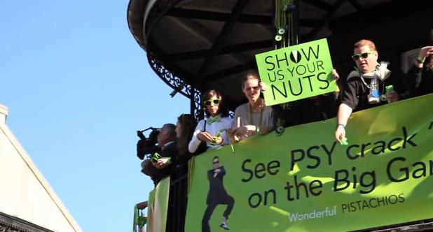 PSY Gangnam Style Flash Mob Takes Over Bourbon Street | Wonderful Pistachios 2013 Super Bowl Ad Celebration