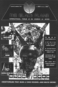 Cover of Various Authors's Book The Black Flame (Vol 6, No 1 and 2)