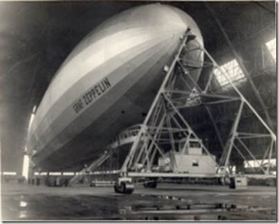 Graf Zeppelin at Akron, 1933