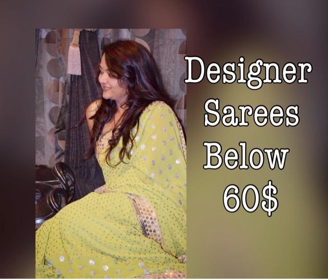 designer sarees online below $60, cheap saress online, buy designer sarees online,chiffon saree online,  vintage desi review